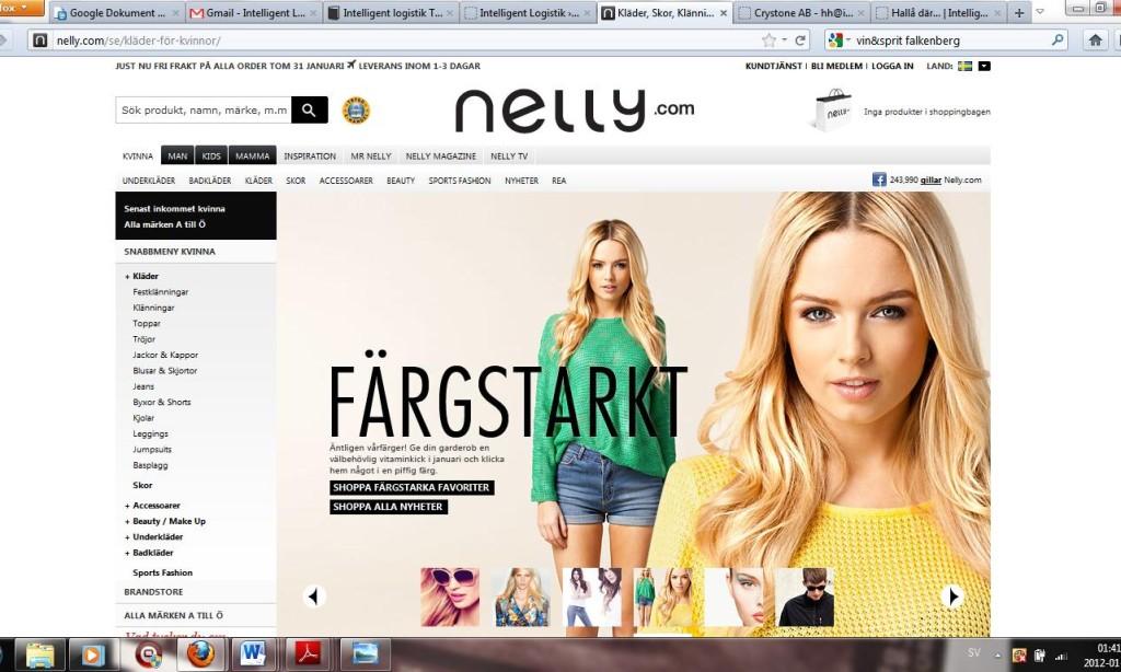 Nelly flyttar logistiken till Borås
