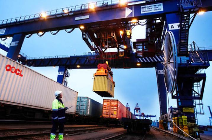 Tre nya tågpendlar till Göteborgs hamn