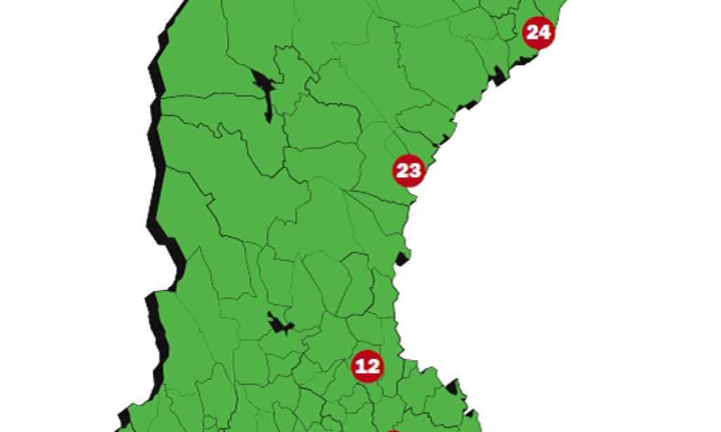 Sveriges 25 bästa logistiklägen 2012