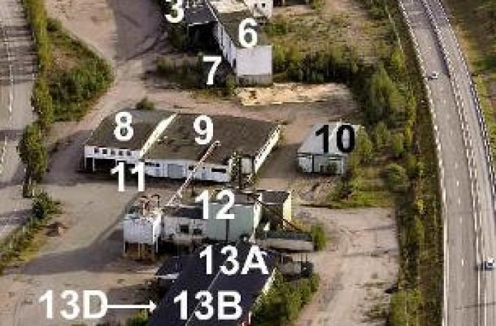 Nedlagd såg blir logistikcentral