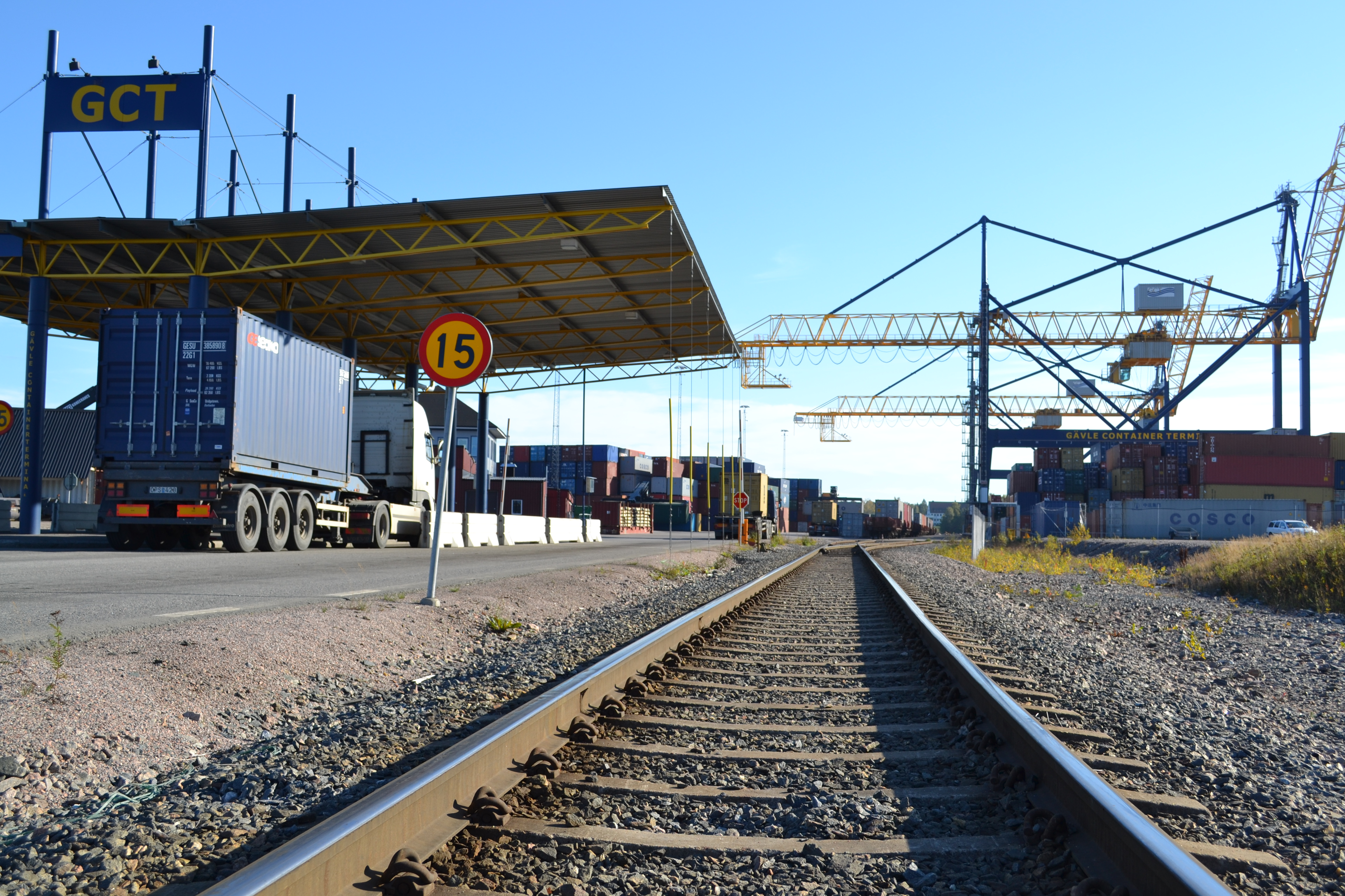 container göteborgs hamn