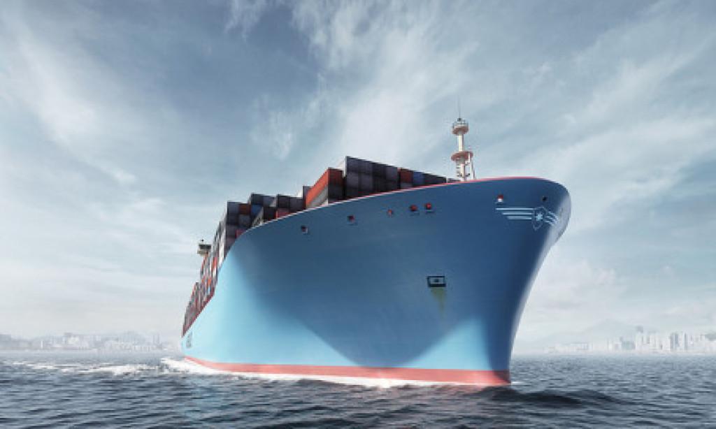 Chalmers testkör jättecontainerbåt