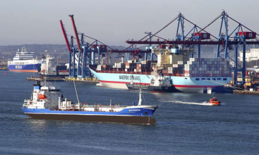 Liten godsökning för Göteborgs hamn