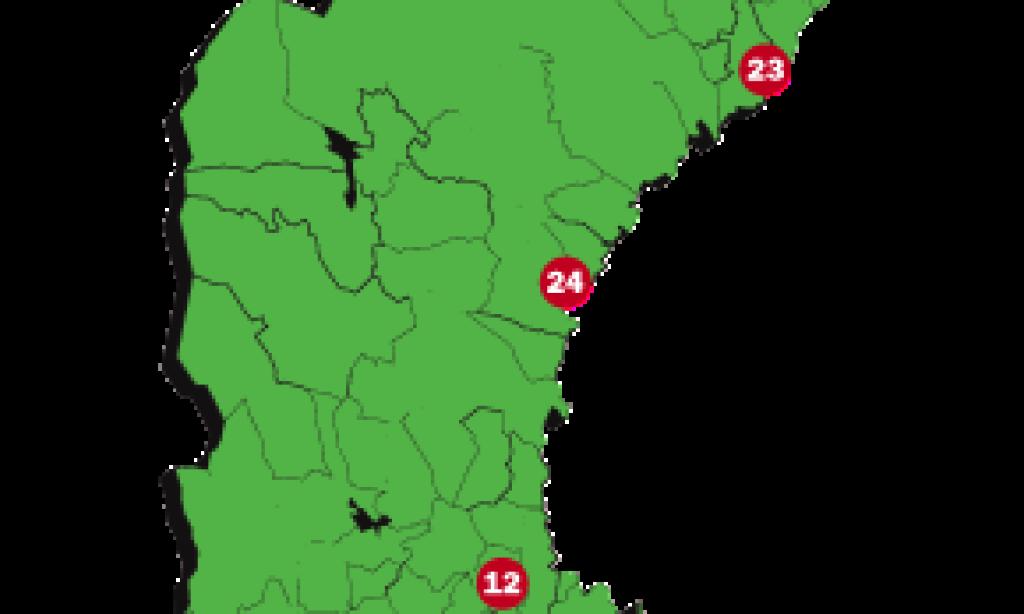 Sveriges 25 bästa logistiklägen 2013