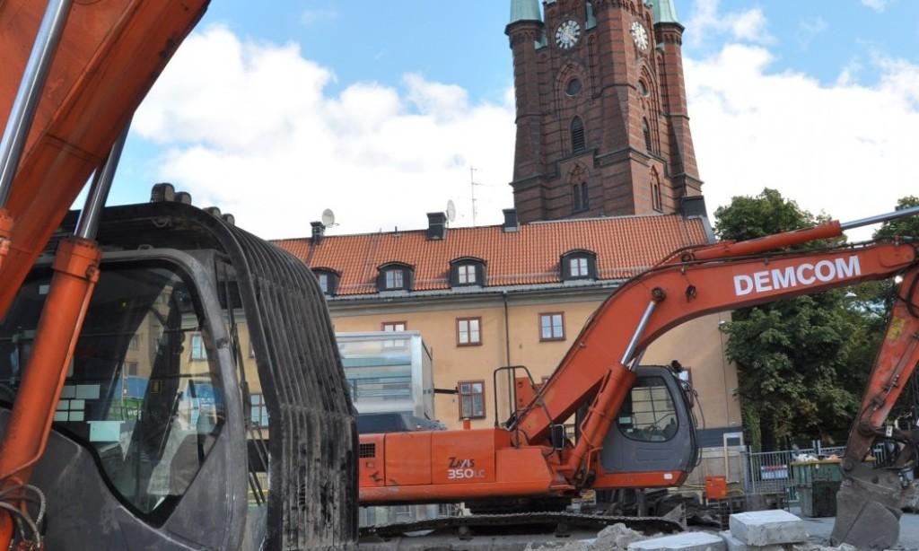 Nu startar bygget av Station Stockholm City