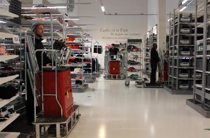Simulering ger smartare e-handelslager
