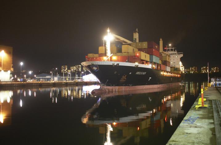 Containervolymerna ökar i Stockholms Hamnar