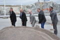 Första spadtaget på ny kombiterminal i Rosersberg
