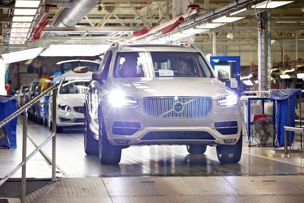 Volvo biltillverkning, Torslanda.