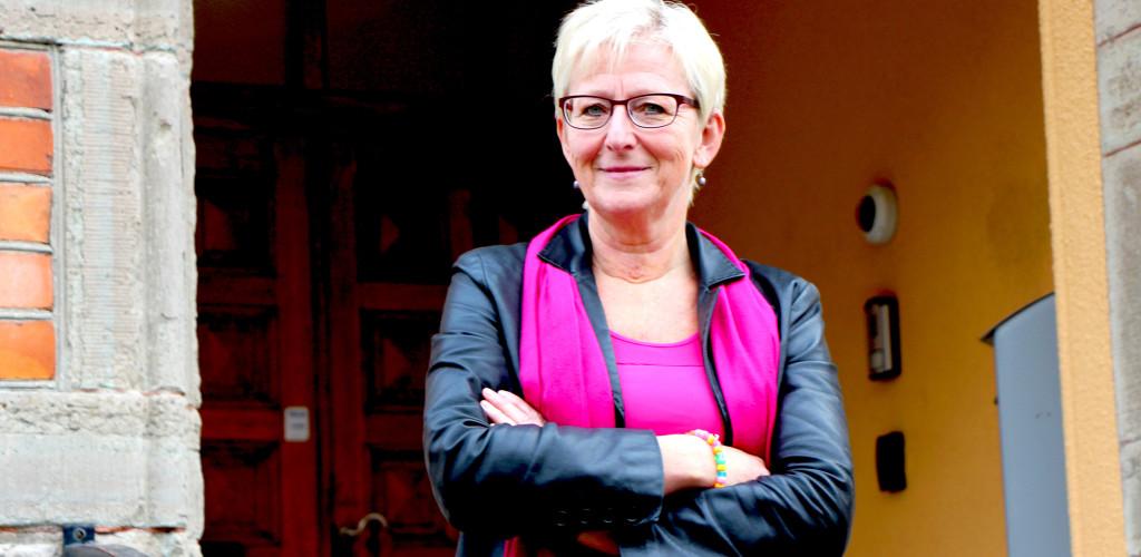 - Vi ska visa upp för Sverige och Europa vad vi kan erbjuda, säger Dot Gade Kulovouri, ny affärsutvecklare på Katrineholms Logistikpark. Foto Geza Simon