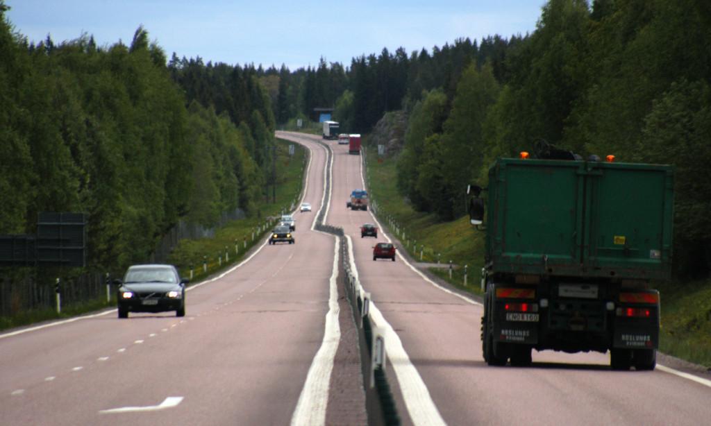 Transporternas utsläpp ökar åter i Sverige