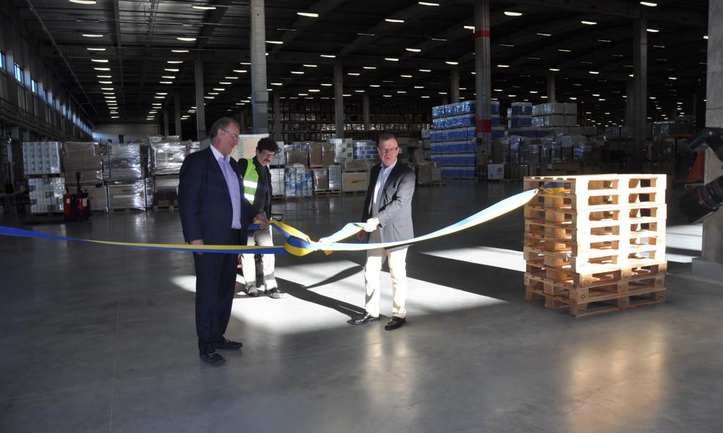 Närproducerad logistik på Rustas nya centrallager