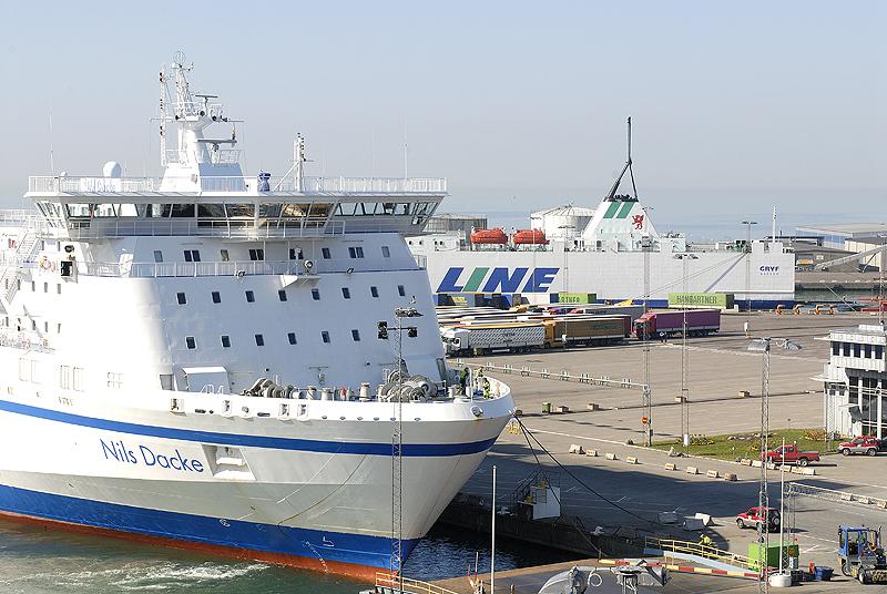 Trelleborgs hamn kammade hem det regionala priset Årets Lyft för sitt miljöarbete. Foto Trelleborgs hamn