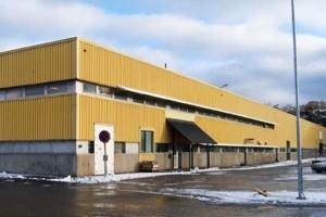 Eklandias fastighet på oljevägen i Arendal. Foto Eklandia.