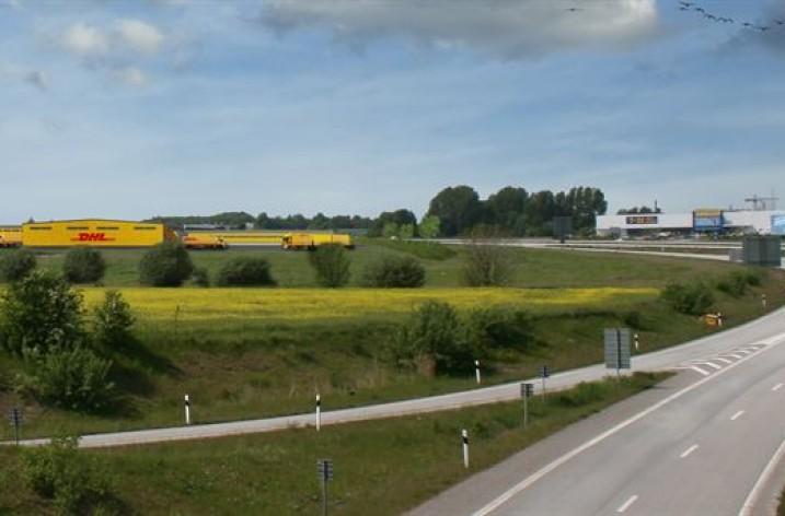 DHL flyttar till mindre i Malmö