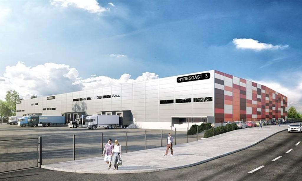 Byggstart för NCCs andra spekulationsbygge i Brunna