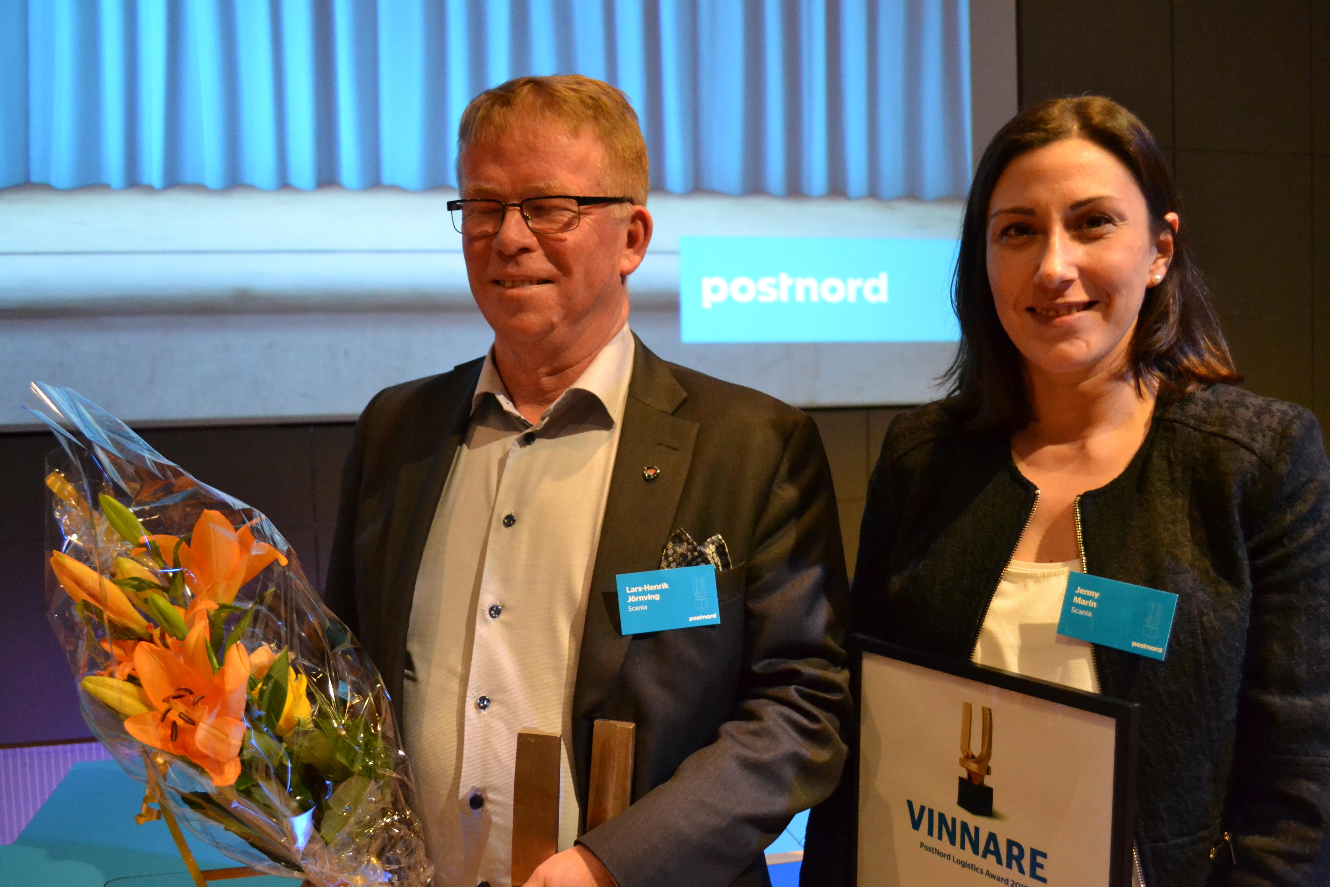 Lars-Henrik Jörnving och Jenny Marin, Scania