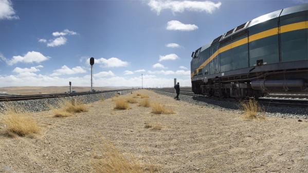 Dachser skickar varor på tåg längs Silkesvägen. Foto Dachser.
