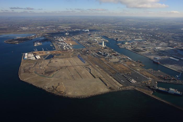 Skanske gör första logistiketableringen i nya Malmö Industrial Park i Norra hamnen.