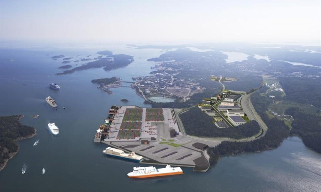 Byggstart för Norviks logistikpark