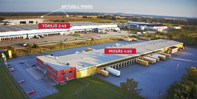720 000 kvm mark i Törsjö ska exploateras till Örebros nya logistikcenter. Foto Örebroporten.