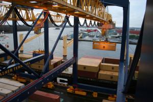 Yilport tar över hela driften av Gävle Hamn och investerar 450 miljoner kronor, främst i en ny containerterminal. Foto GCT