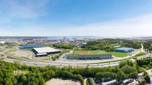 Den nya logistikparken i Göteborgs hamn är tillsammans med Stockholm Syd och Eskilstuna Logistikpark Sveriges hetaste lägen för logistiketableringar de närmaste åren, enligt David Almqvist.