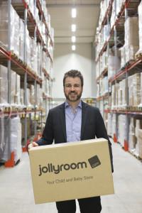 - Det viktigaste är att lagret ligger inom 20 minuter med bil från Göteborg, så att vi kan behålla vår personal, säger Ole Sauar. Foto Jollyroom