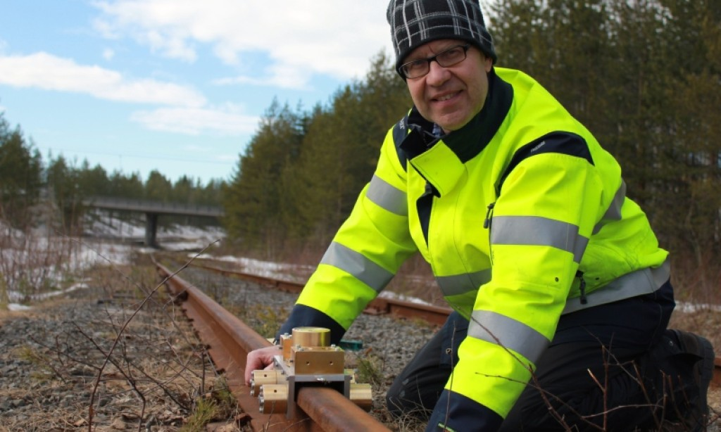 Ny uppfinning kan spara miljoner på järnvägsunderhåll