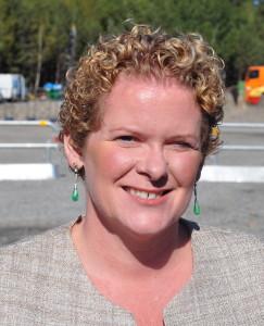Sjöfart är det mest miljövänliga alternativet i dag, säger Karin Wanngård.