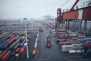 Problemen fprtsätter för APM Terminals Gothenburg. Foto Göteborgs hamn