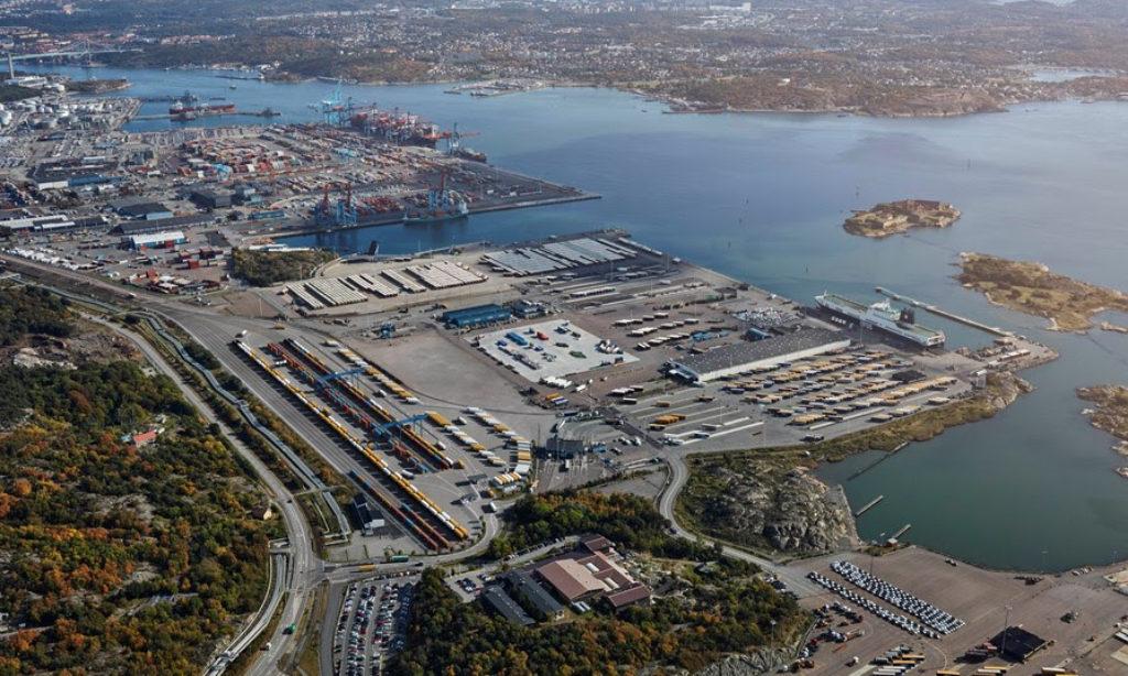 Sandahlsbolagen driver ny kombiterminal i Göteborg
