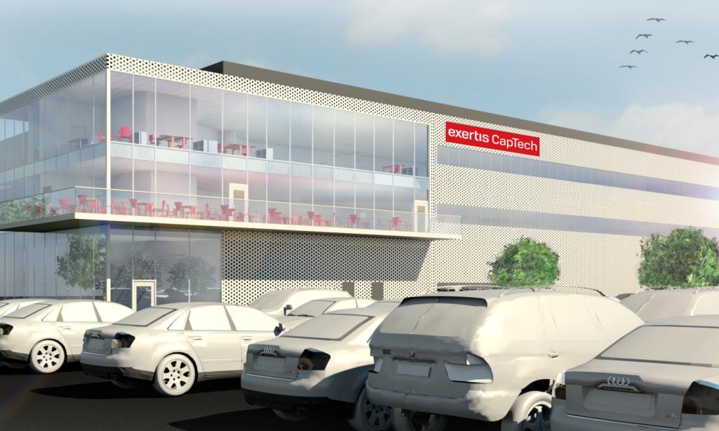 Exertis Captech bygger nytt lager i Mölndal