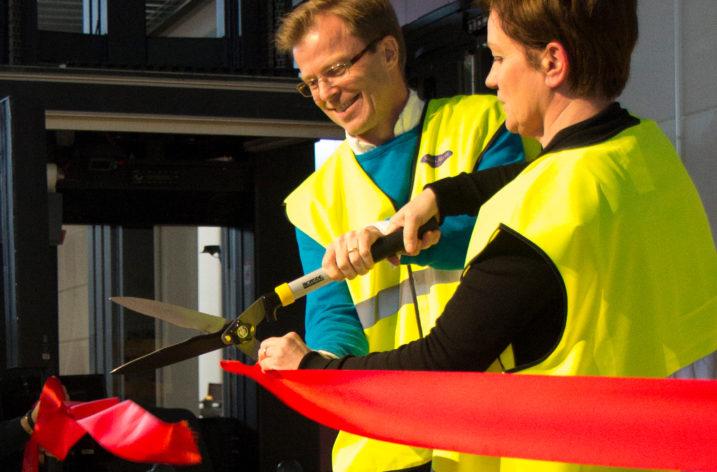 Santa Maria öppnar europeiskt centrallager i Kungsbacka