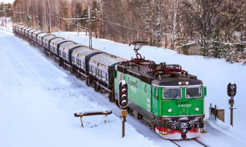 Boliden förlänger avtal med Green Cargo