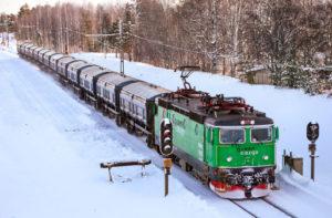 Boliden förlänger sitt avtal med Green Cargo. Foto: Jonatan Rydberg.