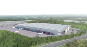 Bockasjös 32 000 kvm stora spekulationsbyggda fastighet i Arlandastad har stått tom sedan den fördigställdes i april 2014. Men i augusti flyttar Bring in med Ikeas E-handel. Bild Bockasjö.