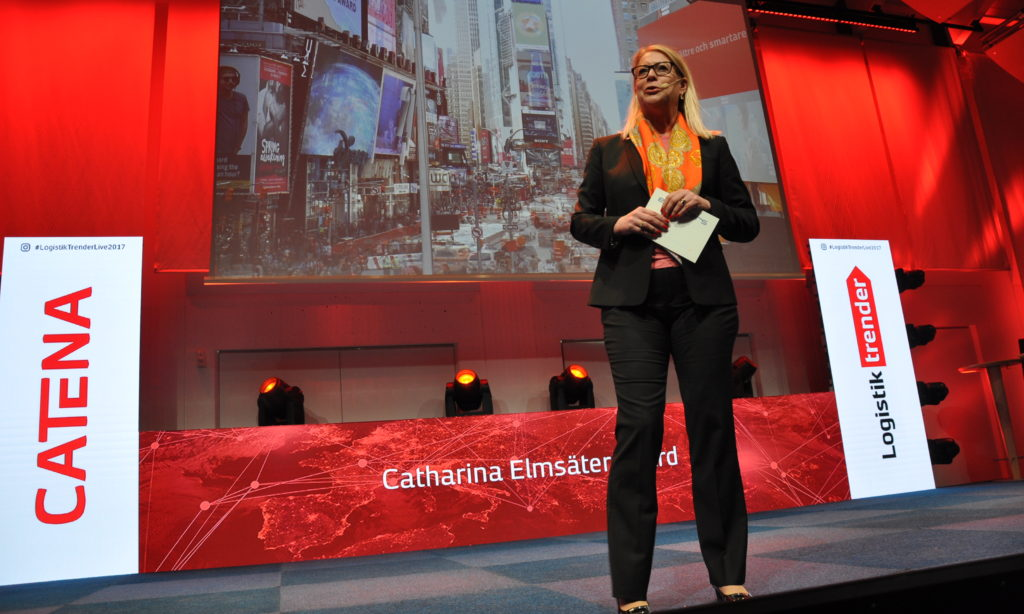 Nya smarta lösningar på Logistiktrender 2017