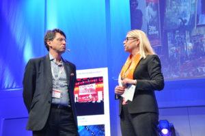 Sverker Lindbo från engelska E-handlaren Ocado. Foto: Lena Sonne.