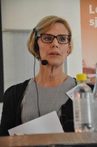 Louise Richnau, Brunswick Real Estate om möjligheter och utmaningar i logistikfastigheter. Foto: Lena Sonne.
