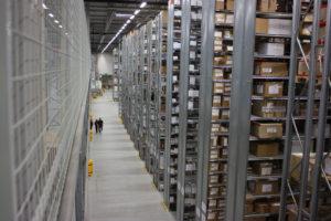Intersport lämnar sin TPL-lösning hos Schenker Logistics i Landvetter och flyttar lagret till Rustas gamla lager i Nässjö. Foto: Constructor.