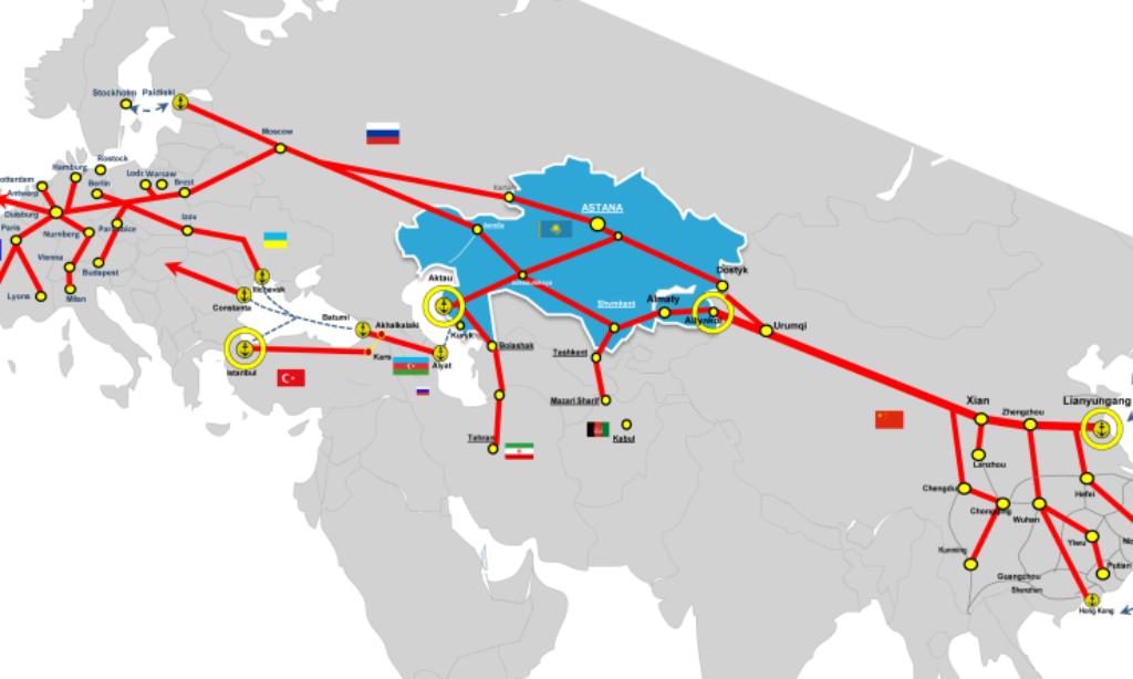 Snabbare Kinafrakt när Sidenvägen rustas upp