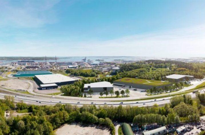 Byggstart för NCCs tredje etapp i Göteborgs hamn
