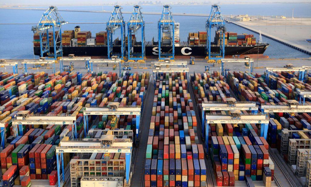 Kina storinvesterar i global hamninfrastruktur