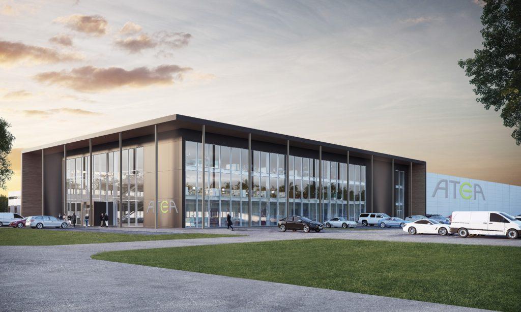Atea storsatsar och bygger nytt i Växjö