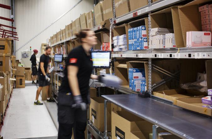 Newbody vinner på digitaliserad logistik