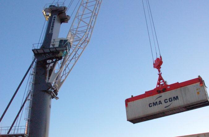 Ökade containervolymer för Helsingborgs hamn