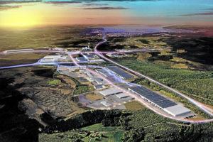 - Torsvik expanderar rejält, under 2018 tillkommer omkring 50 000 kvm. Foto Logpoint