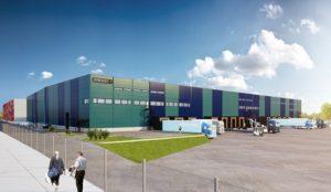 Brunna logistikpark växer med nya hyresgäster. Foto: NCC.