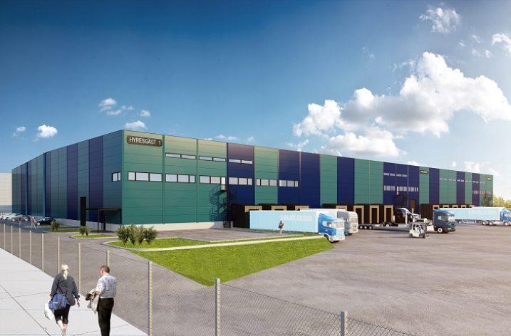 Brunna logistikpark växer